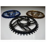 China 7075-T6 Aluminum Color Anodized Race Face 104mm Single Chain Ring 4mm Plate Thickness wholesale