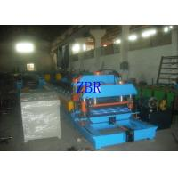 China Steel Glazed Tile Roll Forming Machine 13Kw 1.2 Inch Single Chain Drive wholesale