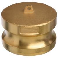 """Wholesale Cam Lock Part DP 2"""" Air Hose Couplings Female Brass dust Plug Brass with Buna Nitrile from china suppliers"""