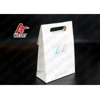 Wholesale Candy Die Cut Wrapping Paper Gift Bags With Red Printing Black Rope from china suppliers