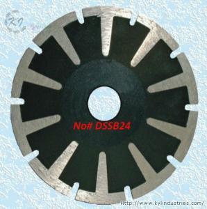 China Continuous Rim Diamond Concave Saw Blades - DSSB24 wholesale