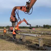 Buy cheap for 36ton excavator use pile driver used in construction field from wholesalers