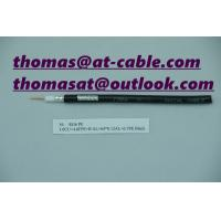 China Outer Door RG6 PE Jacket 1.0 BC Conductor water proof Telecom coaxial cable on sale
