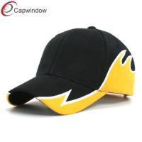 China Double Side Flame Fitted Baseball Hats Constructed with Heavy Brushed Cotton wholesale