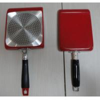 China 24cm Square Nonstick Frying Pan With Marble / Powder Coating wholesale