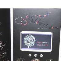 China VIF Free Sample Limited Buttons function lcd video business cards Full colors digital lcd video mailer wholesale