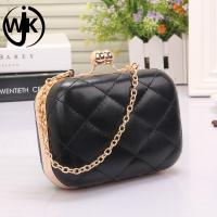 China 2018 Fancy women party dinner bagwholesale price pu evening bag wholesale