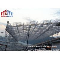 China Heavy Duty Aluminum Roof Truss System Non Toxic Durable PVC Roof Cover Fabric on sale