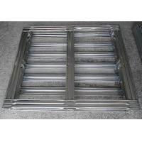 China Warehouse Galvanized Steel Pallets Metal Handling Equipment Stronger And Durable wholesale