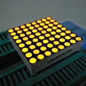 China 1.26 Inch Dot Matrix LED Display 32 x 32 x 8mm For Elevator Floor Indicators wholesale