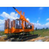China High Speed Hydraulic Press In Pile Driver , Pile Foundation Equipment wholesale