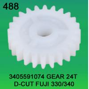 China 3405591074 GEAR TEETH-24 D-CUT FOR FUJI FRONTIER 330,340 minilab wholesale