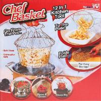 China As Seen On TV - Chef Basket Deluxe Kitchen Colander Cooking Expandable on sale