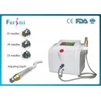 China Portable fractional RF microneedle device 80W RF output power 5Mhz frequency wholesale