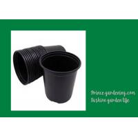 China Round Garden Nursery Pots Garden plant accessories Black or as request Color Plant Growing Material Plasitc Warranty per wholesale