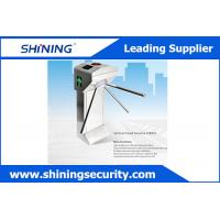 China Access Control Tripod Waist High Turnstile Security Systems With Manual Button wholesale