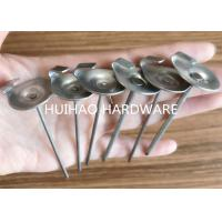 China Stainless Steel Insulation Anchor Pins With 22mm Dome Cap Washers for Blankets wholesale