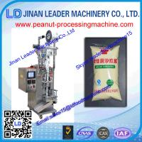 Adjustable cut-off length Automatic peanut packaging machine For black pepper or powder