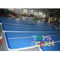 Quality Adult Inflatable Tumble Track Inflatable Air Track Mats For Indoor Sport Game for sale