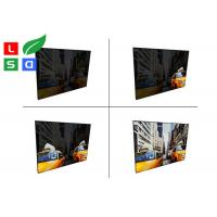 China Aluminum Material EL Light Panel DC 12V / 24V LED Animation Textile Frame wholesale