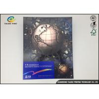 Buy cheap Paper Inline Cold Foil Stamping Greeting Cards for Christmas Decoration Colorful Printing from wholesalers