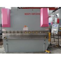China Precision Steel  Hydraulic Shearing Machine Easy Operation Pipe Bending Machines wholesale