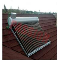 China CE Approved Vacuum Tube Solar Water Heater Open Loop with Assistant Tank wholesale
