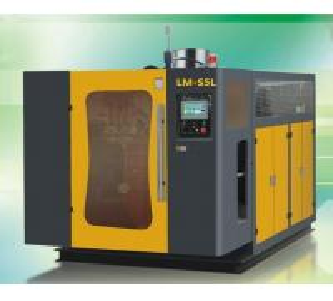China Single Station Extrusion blow molding machine LM-S2L/T liquid line wholesale