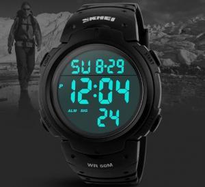 China Skmei 1068 Waterproof Men's Digital LED Sports Wrist Watch wholesale