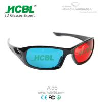 Wholesale Red and Blue 3D Eyewear Anaglyph 3D Glasses with 1.5 mm Acrylic Filter Lens from china suppliers