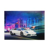 China Car Poster  Lenticular 3d Effect Poster PET CMYK Offset Printing wholesale