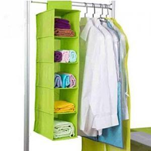 China Bedroom Design Foldable Plastic Wardrobe , Portable Dustproof Non Woven Wardrobe on sale