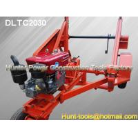 China Hydraulic Cable Drum Trailers easy to operate for work on sale