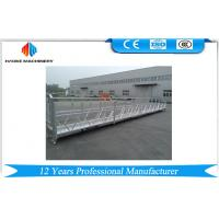 China 10M Powered Aluminum Rope Suspended Platform ZLP1000 Single Phase 2 * 2.2kw wholesale