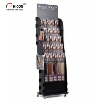 Buy cheap Hair Salon Wig Display Ideas Movable Metal Wig Display Stands from wholesalers