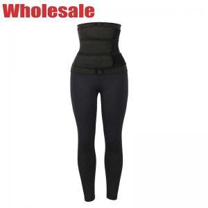 China Customized 11.5 Inch Waist Training Leggings With Three Waist Belts wholesale