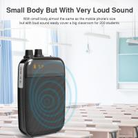 China Ultralight Light Mini Portable Voice Amplifier LED Display Rechargeable Loudspeaker with FM for School, Super Market on sale