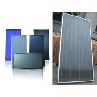 China solar water heating flat panel collector wholesale