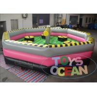 China Customized Inflatable Interactive Games Inflatable Wipeout Course Playground wholesale
