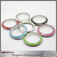 China Stainless steel screw enamel floating living locket wholesale