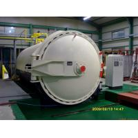 China Glass laminating autoclave with automatic CPC control programmer wholesale