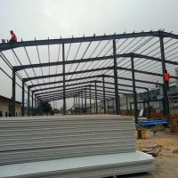 China Cheap Prefabricated Easy Assembly Steel Workshop wholesale