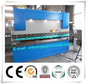 Buy cheap NC Hydraulic Press Brake And Bending Machine 80T , Metal Sheet Brake Press Machine from wholesalers