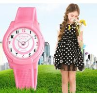 China New Children Students 9mm Ultra-thin watch Waterproof 50m PU Band High Quality Quartz Sport Watch  9588 wholesale