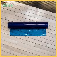 China Customised Self Adhesive Floor Protection Film Blue Color No Bubble wholesale