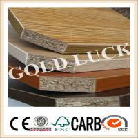 Quality Melamine Particle Board with Wood Grain Color for sale