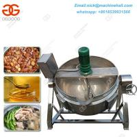 Quality Selling Boiled Peanuts Roadside Steam Jacketed Kettle Specifications Automatic Potato Chips Jacketed Machine for sale