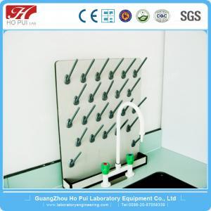 China PP University Chemical Lab Fittings Anti - Corrosion Laboratory Drying Rack wholesale