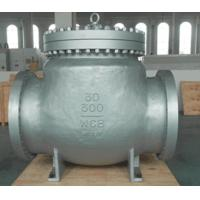 China Carbon Steel BW WCB Swing Check Valve Hardfaced With 13 CR RF , Precision Machined Castings wholesale