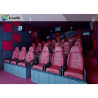 China Hydraulic 5D HD Movie Theater With 55 inch displayer / 6 seats wholesale